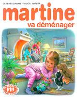 Martine déménage.